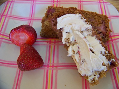 Cook-strawberrybread-finishedplate